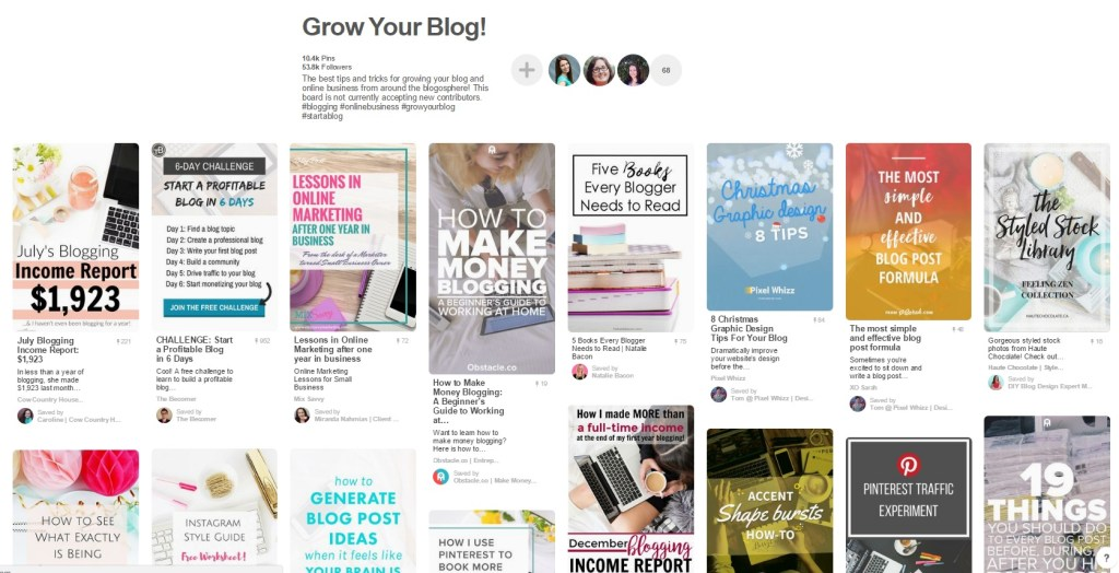 Want to join Pinterest Group Boards for bloggers and business owners? These 5 Pinterest group boards are perfect! Pinterest Group Boards for bloggers!