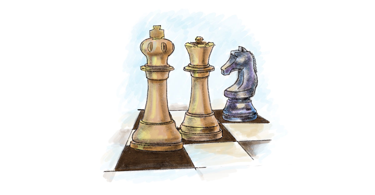 Amy Jean Chess Pieces