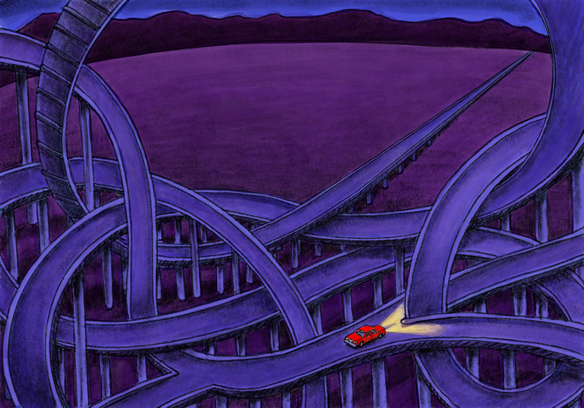 Amy Jean Blog Post - The Long Stretch- Illustration by Eric Savage