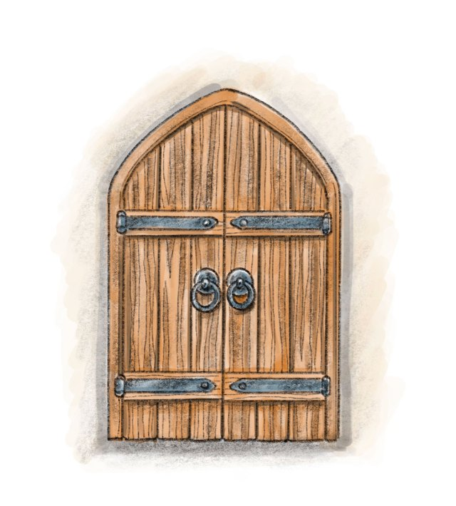 Amy Jean Blog - Storyteller - Door Illustration