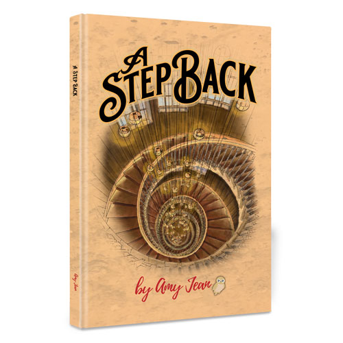 Amy Jean Blog - A Step Back - Book Cover