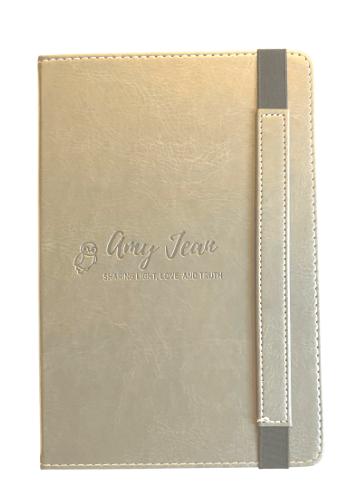 Amy Jean Embossed Blank Journal