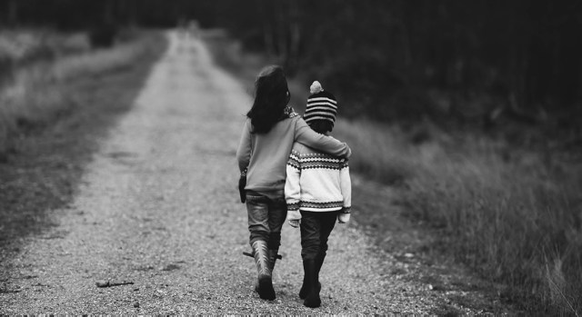 Amy Jean - Joy - Sisters walking together