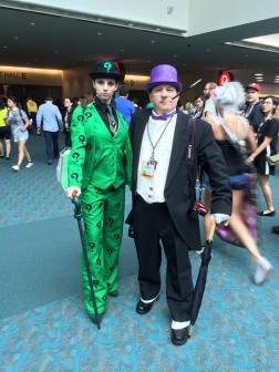 Joker and Penguin cosplay