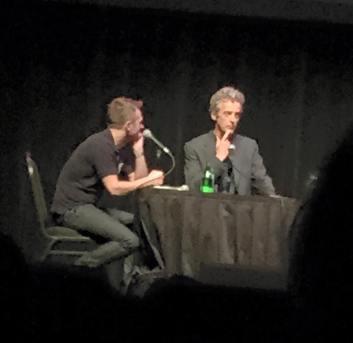 Peter Capaldi at the Nerdist podcast