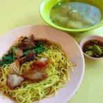 1_ Chin Seng Cooked Food (Tekka Centre) - Wanton Mee