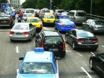 Traffic conditions in Singapore