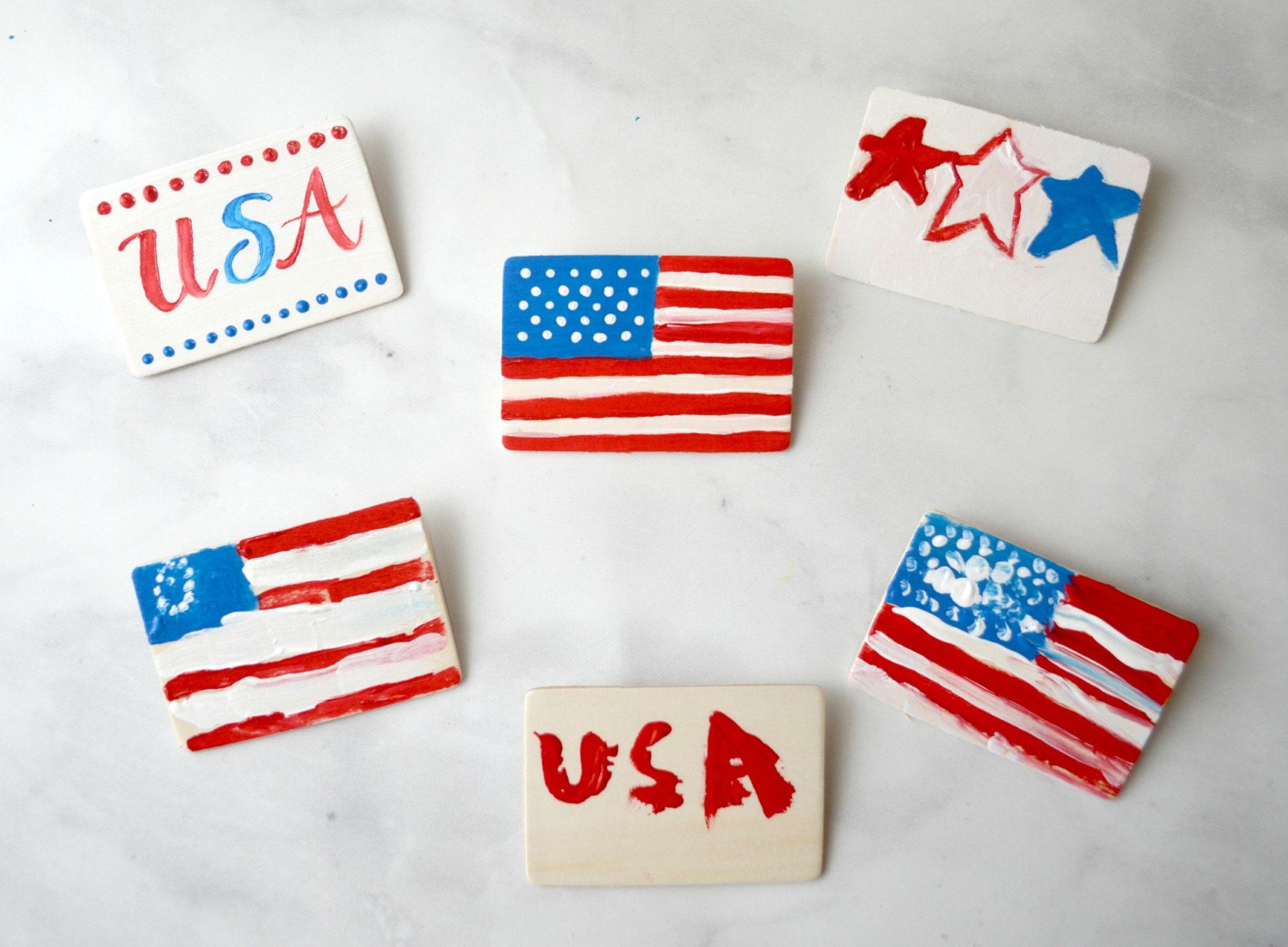 Patriotic Flag Pins