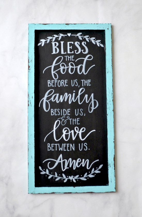 Hand Lettered Wall Art