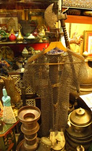 Chain mail and a mace? Yep, they've got that at Istanbul's Grand Bazaar. So, that's your Christmas shopping done.