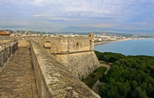 Fort Carre in Antibes, France
