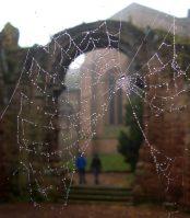 St John the Baptist ruins in Chester, England.