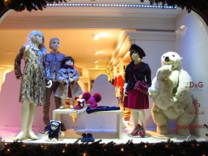 Well-dressed wee ones are kept au courant at shops like D&G Junior on The Promenade.