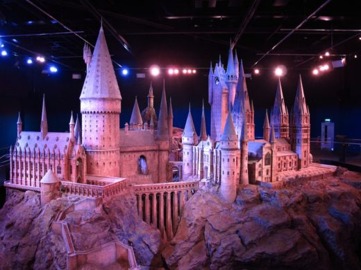 Hogwarts Castle at Warner Bros. Studio Tour London: The Making of Harry Potter