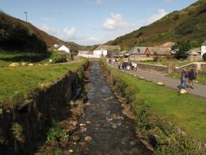The stream through the heart of Boscastle