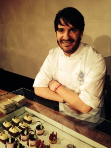 Patissier Eric Lanlard at the launch party.