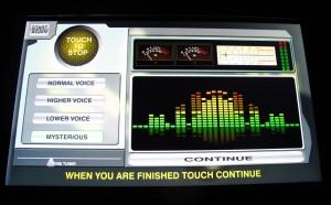 Voice modulator.