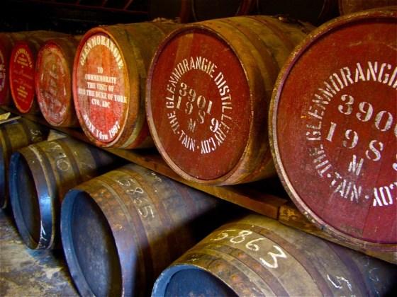 Scotch whisky casks