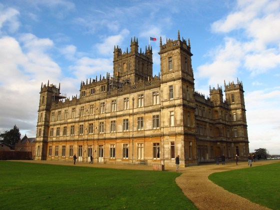 Highclere Castle, a.k.a. Downton Abbey