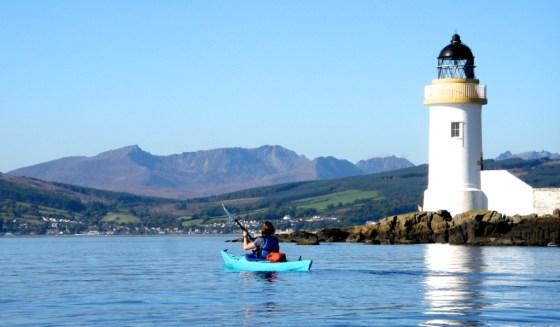 Lamlash Bay, courtesy Calum McNicol, Arran Adventure Company