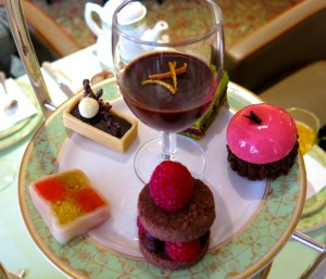 Chocolate Inspired tea at Grosvenor House