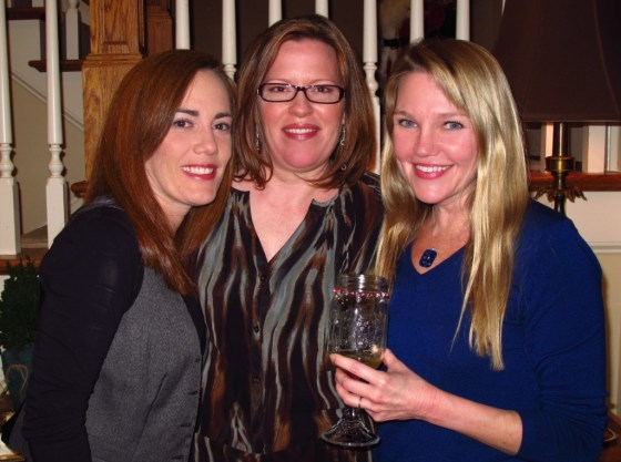 Michelle in the middle, with my friend Kelley and myself.