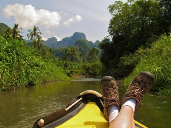 Jungle canoe safari