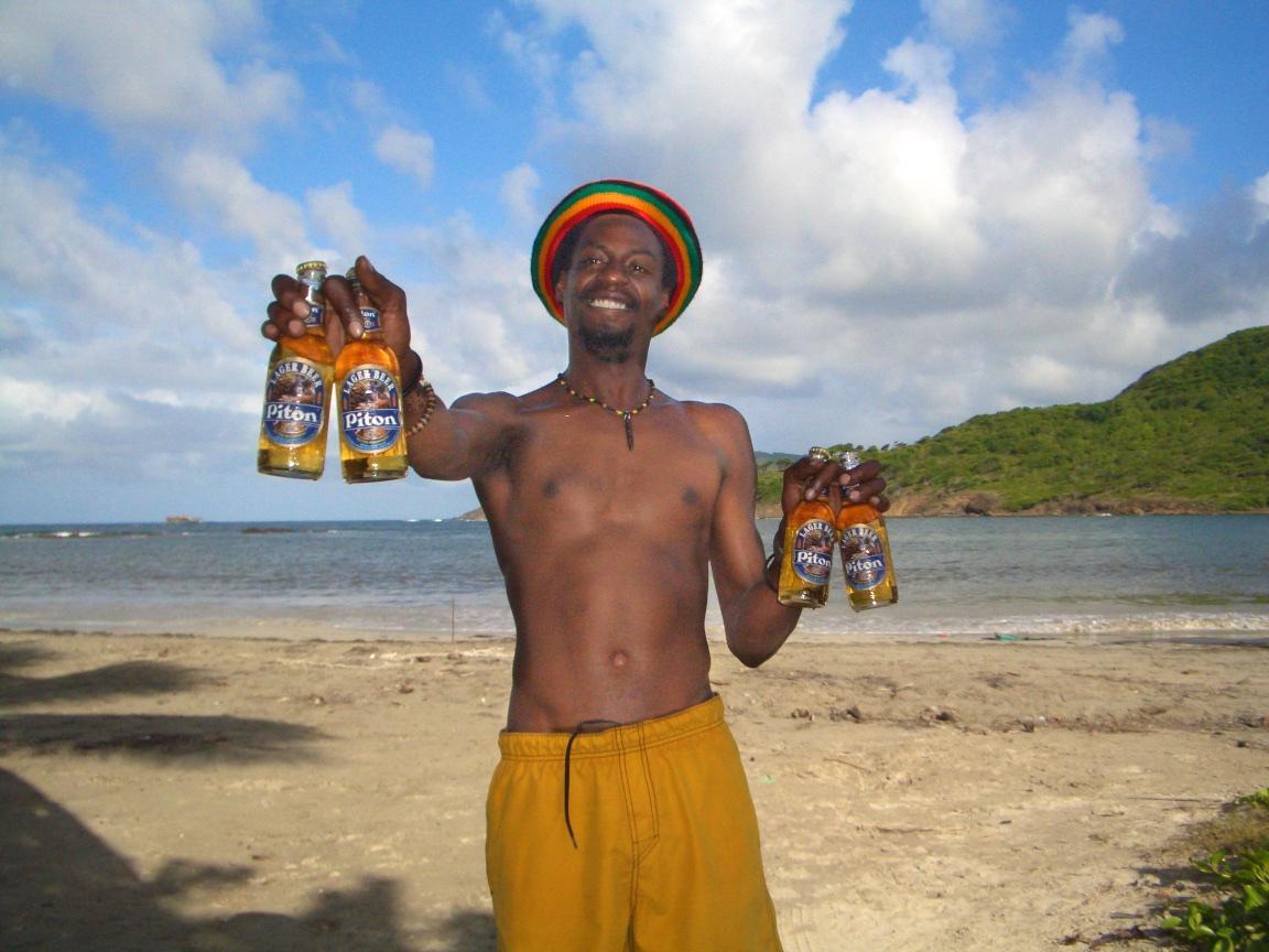 Image by Shutterstock Eastern Caribbean Sea St Lucia Men/'s Tee