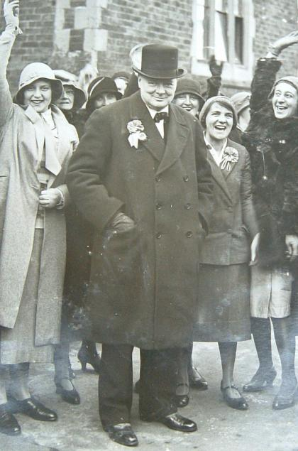 Winston Churchill, courtesy Blenheim Palace