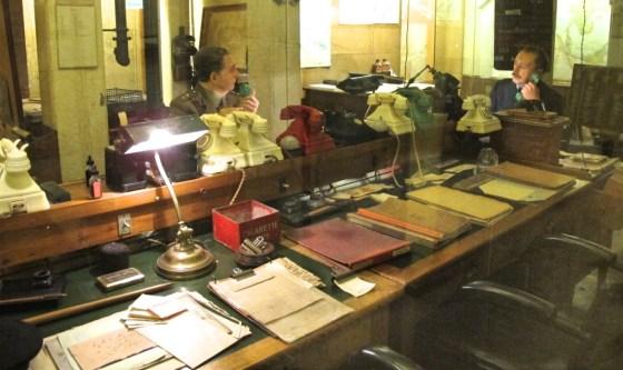 Churchill War Rooms office in London, England