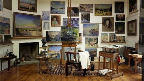 Winston Churchill's paintings at Chartwell, © Chartwell/National Trust
