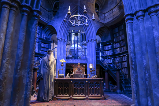 Dumbledore's Office Harry Potter studio tour