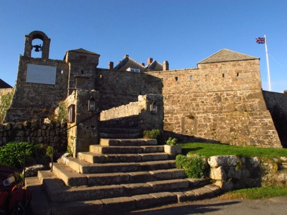 Star Castle Hotel on St. Mary's, England's Isles of Scilly
