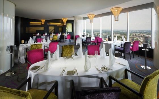 Horisont Restaurant & Bar courtesy Swissotel Tallinn