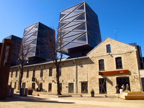The revitalized Rotermann Quarter is symbolic of Tallinn's eagerness to modernize, but the 19th century warehouses have been thoughtfully preserved. Copyright Amy Laughinghouse.
