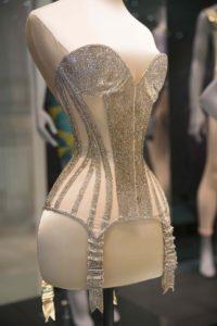 Swarovski crystal corset worn by Dita von Teese. (c) Victoria and Albert Museum, London