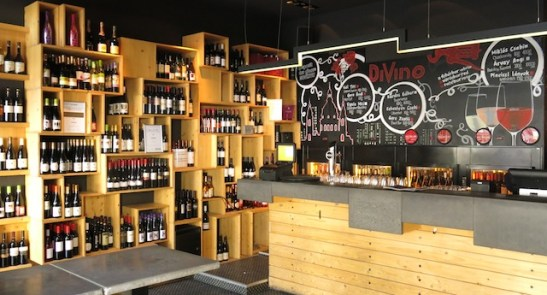 DiVino Wine Bar on St. Istvan Square, Budapest