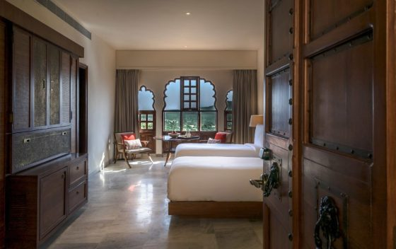 Rendering of the Heritage Suite at Alila Fort Bishangarh. CourtesyAlila Fort Bishangarh