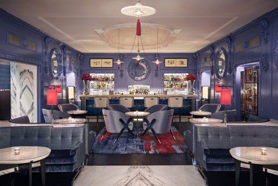 The Blue Bar at The Berkeley. Courtesy The Berkeley.