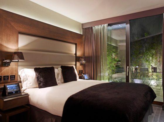 A room at Eccleston Square. Courtesy Eccleston Square Hotel.