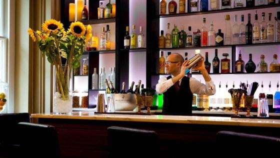 The Bar at The Gainsborough Bath Spa. Courtesy The Gainsborough Bath Spa.