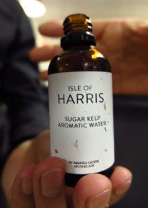 bottle of Isle of Harris sugar kelp aromatic water