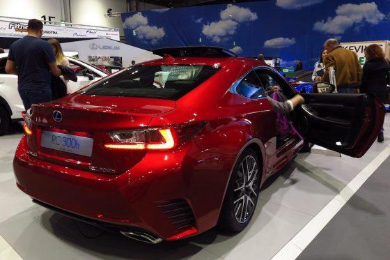 red Lexus
