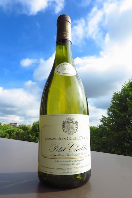 Domaine Jean Golly & Fils Petit Chablis Special Cuvee 2015