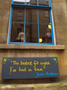 The Wild Cafe in Bath, England