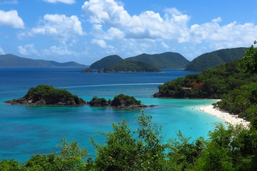 Trunk Bay, St. John before Hurricane Irma. Copyright Amy Laughinghouse