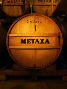 METAXA French limousin oak cask. Courtesy METAXA.
