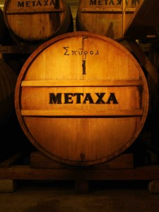 METAXA French limousin oak cask. Courtesy METAXA.