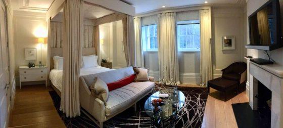 A sumptuous suite at Coworth Park