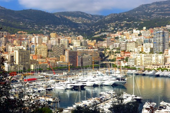 Port Hercule, La Condamine, Monte Carlo, Monaco. Copyright Amy Laughinghouse